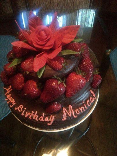 monicas bday cake