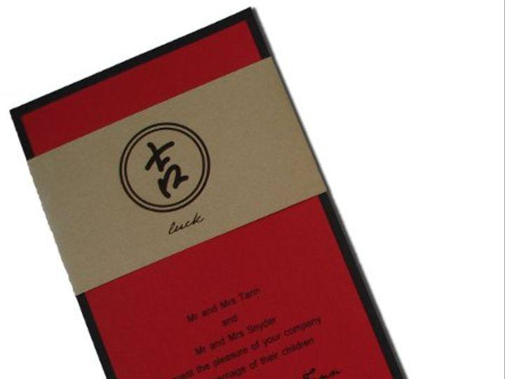 Tmx 1292826718585 Lucksymbol Tacoma wedding invitation