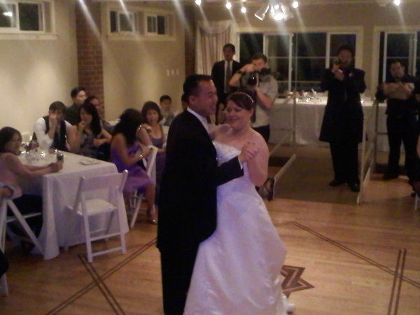 First dance at Monte Villa Farmhouse in Bothell, WA.