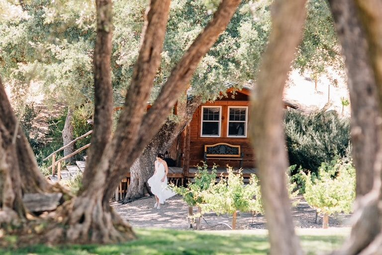 Quaint bridal cabin