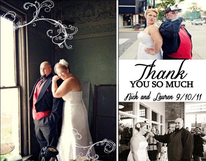wedding thank yo