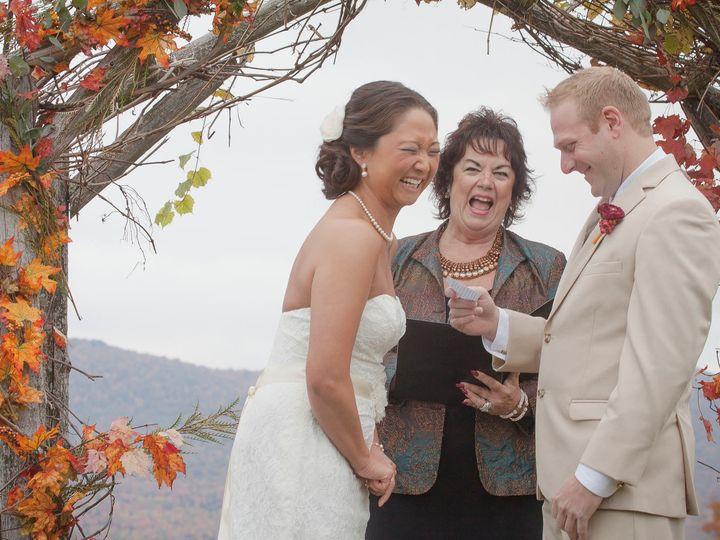 Tmx Laughter With Wedding Officiant Annie Kramer Alexander 51 441182 157437017947554 Burlington, VT wedding photography