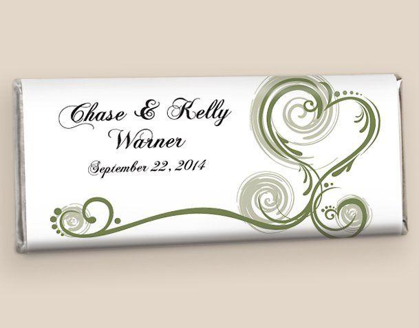 Wedding Favors: Olive Regal Elegance