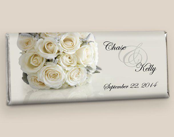 Wedding Candy Bars: Timeless Bouquet