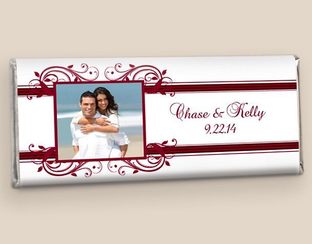 Hershey's Wedding Favors: Merlot Timeless Tradition