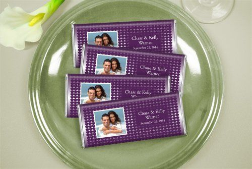 Personalized Wedding Candy: All Yours  http://wrappedhersheys.com/p/All-Yours.cfm