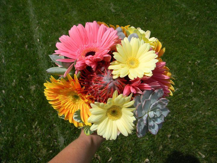 Round bouquet