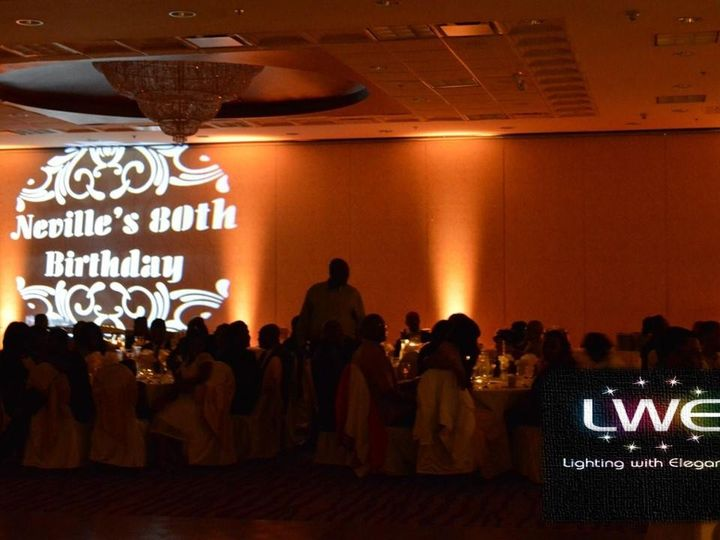 Tmx 1456758525205 Gobo And Up Lighting Chicago, Illinois wedding eventproduction