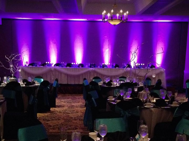 Tmx 1457049075355 Head Table Lighting 2jpg Chicago, Illinois wedding eventproduction