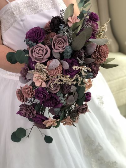 Moody and Dramatic Bouquet