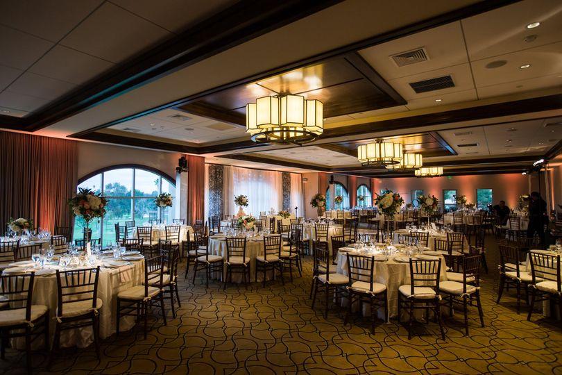 Tony Lema Ballroom Reception