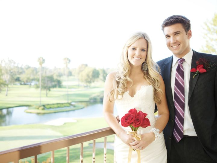 Tmx 1429648707081 Bride  Groom Formal On Terrace Costa Mesa wedding venue
