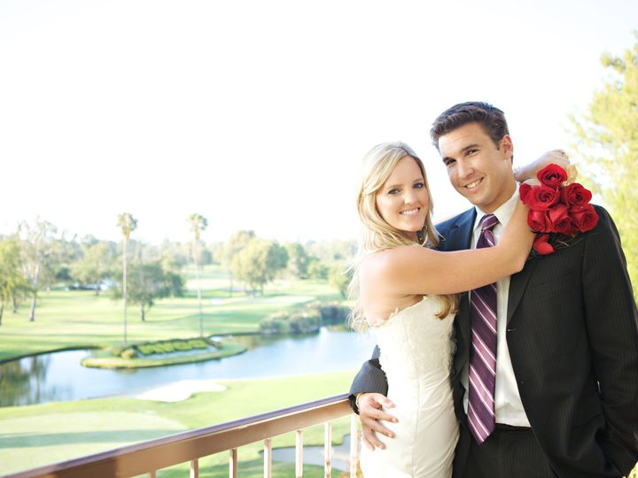 Tmx 1429648771642 Bride  Groom Hugging On Terrace Costa Mesa wedding venue