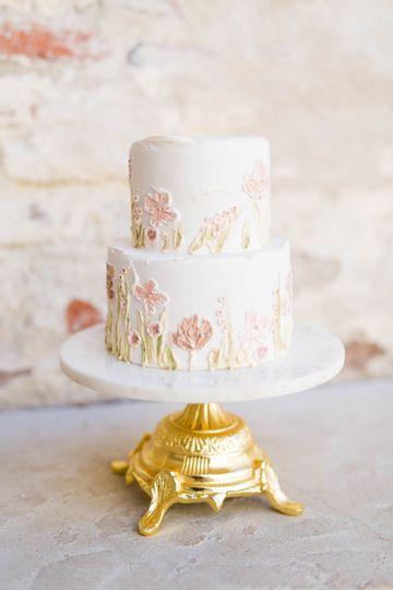 Styled Shoot Cake