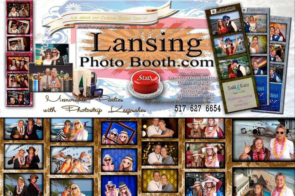 Lansing Photobooth / McNeilly Photography Studio