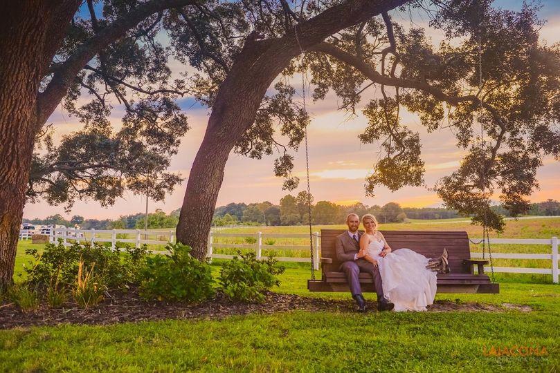 Red Barn Wedding near Gainesville