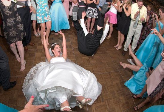 """Non-traditional """"father-daughter"""" dance. old saying, """"if you didn't get your dress dirty, you..."""