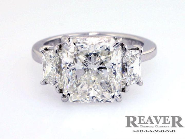 Tmx 1519772924 7752c296dc59a0df 1519772923 392ed41239005e5d 1519772917691 23 3 Stone 6ct RAD W Southfield wedding jewelry