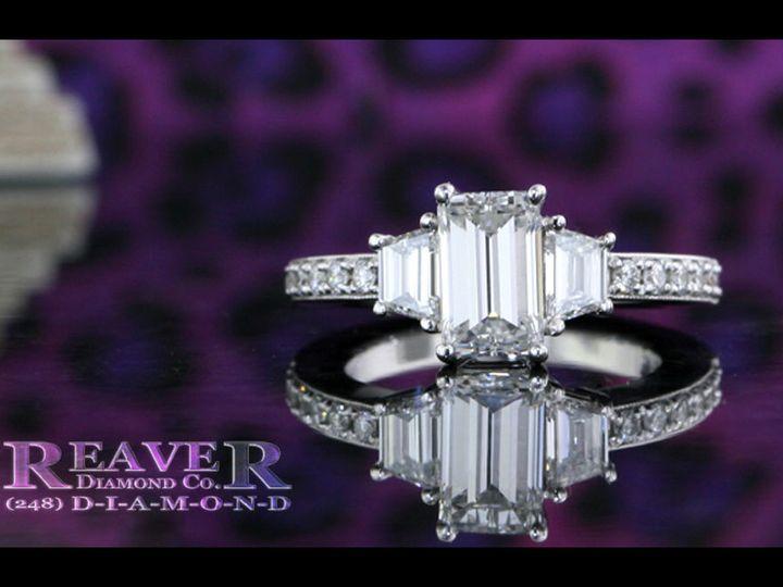 Tmx 1519773312 71a760fe2dd863ad 1519773311 58c7d19faf1561f9 1519773312481 44 3 Stone Emerald A Southfield wedding jewelry