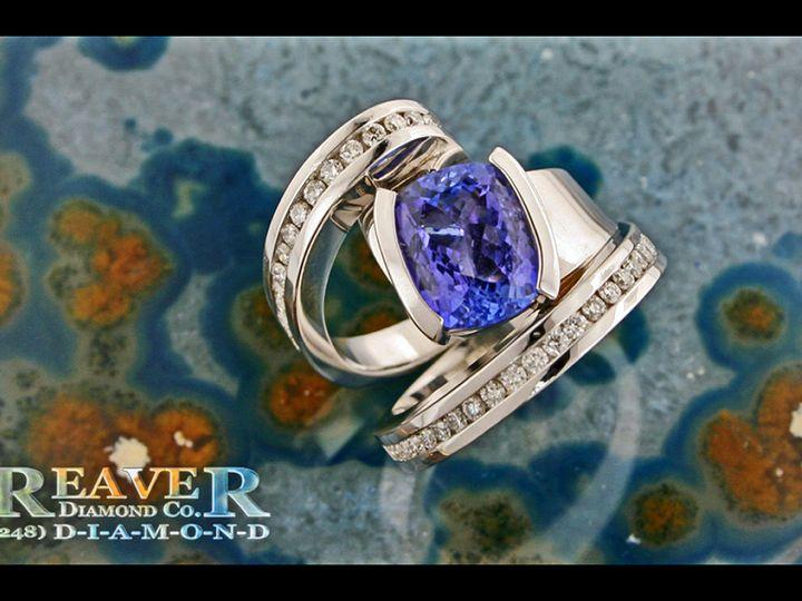 Tmx 1519773330 Aa6d872339260944 1519773329 4be7c8af3021aecd 1519773329587 45 Free Form Cushion Southfield wedding jewelry