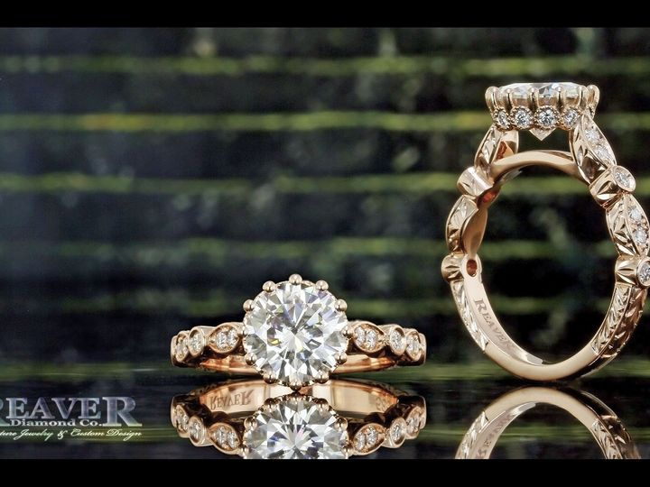 Tmx 1519774237 15261eecb7c46353 1519774236 Fbfbd301b5f561e0 1519774230182 58 Rose Gold Round M Southfield wedding jewelry