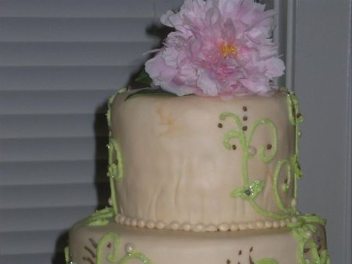 Tmx 1246566189319 MorganLinckweddingcake61309012 Orlando wedding cake