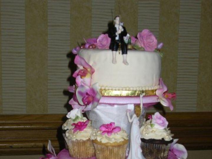 Tmx 1279710177465 ChristiansenGarciaWedding7110014 Orlando wedding cake