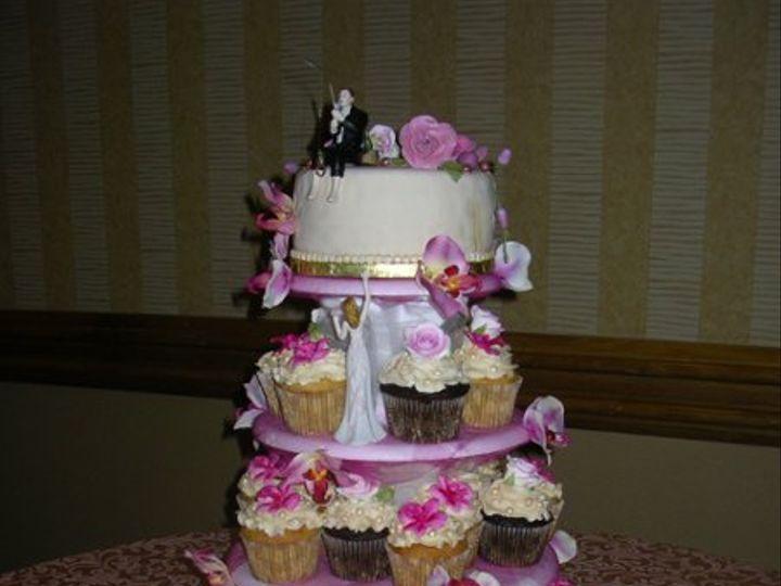 Tmx 1279711398028 ChristiansenGarciaWedding7110009 Orlando wedding cake