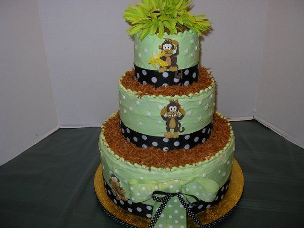 Tmx 1302778741033 ChicoMonkeyBabyShowerCake004 Orlando wedding cake