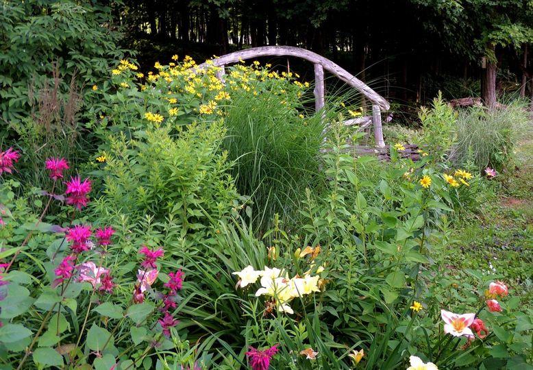 Gardens bloom from May till October.