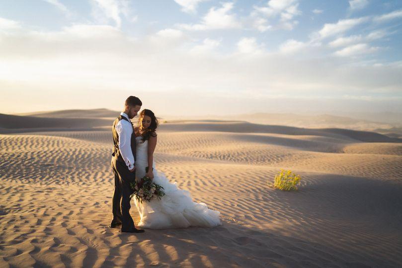 Mandy + Andrew Sand Dunes