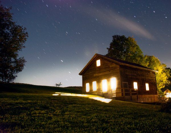 Tmx 1323899446929 Haybarnaglowreducedsize Starksboro, Vermont wedding venue