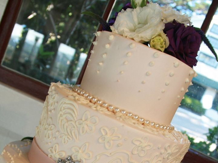 Tmx 1452895738775 Wedding0464 Watsonville, CA wedding cake