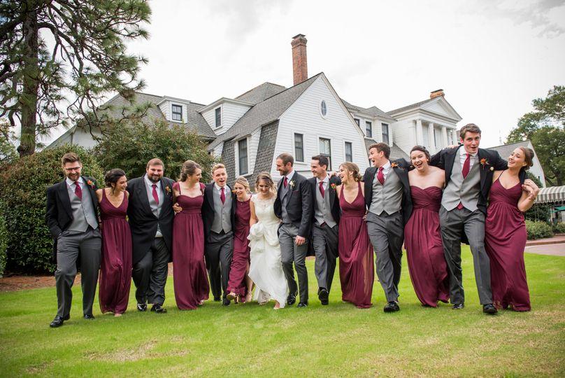 Bridal Party fun at Holly Inn