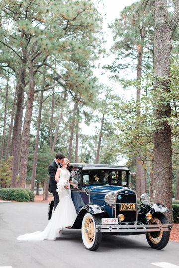 Classic Car 1920s Wedding