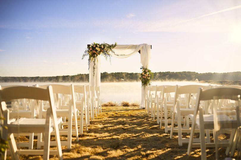 Ceremony at Lake
