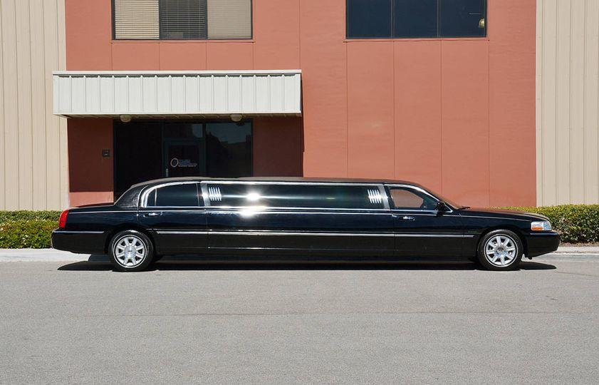 Stretch limousine