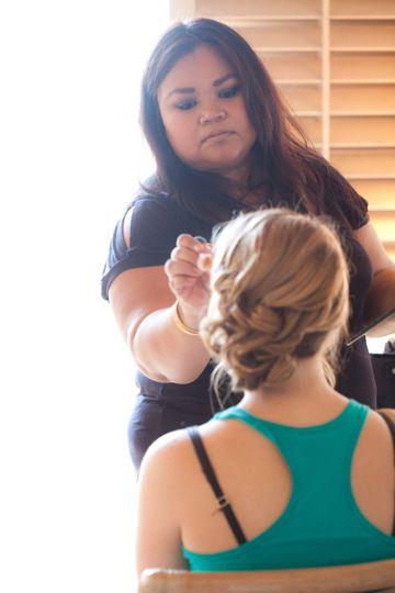 Hawiza Sharpe Makeup & Hair Artist