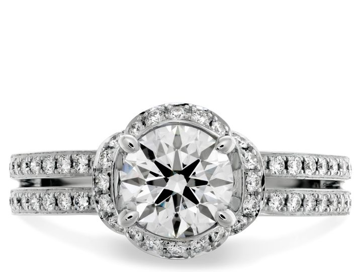 Tmx 1383750460247 6optima Dbl Row Engagement Ring  Boston wedding jewelry