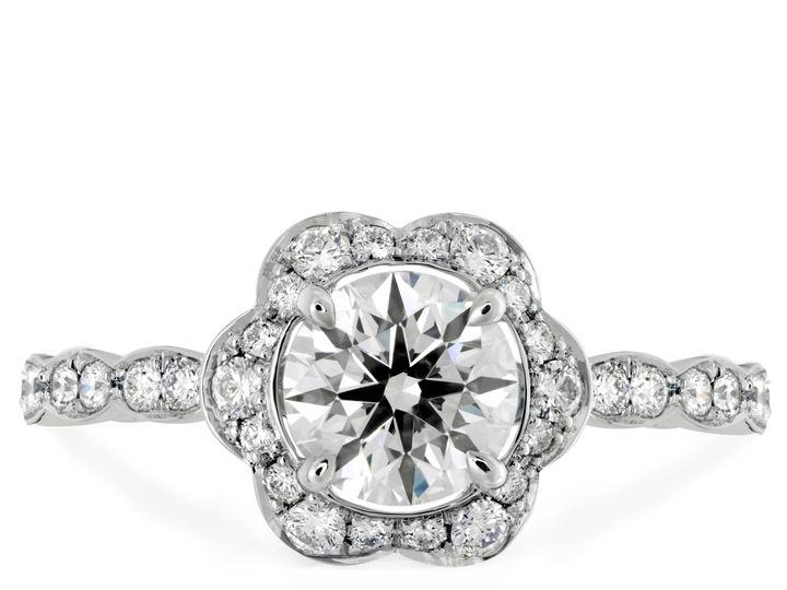 Tmx 1383750472659 9lorelei Floral Sol  Boston wedding jewelry