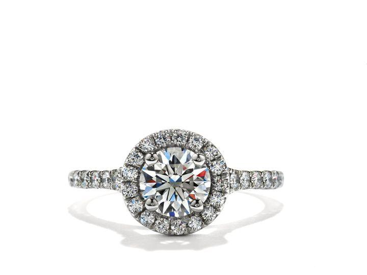 Tmx 1383750495550 4transcend Single Halo Rnd Sol  Boston wedding jewelry
