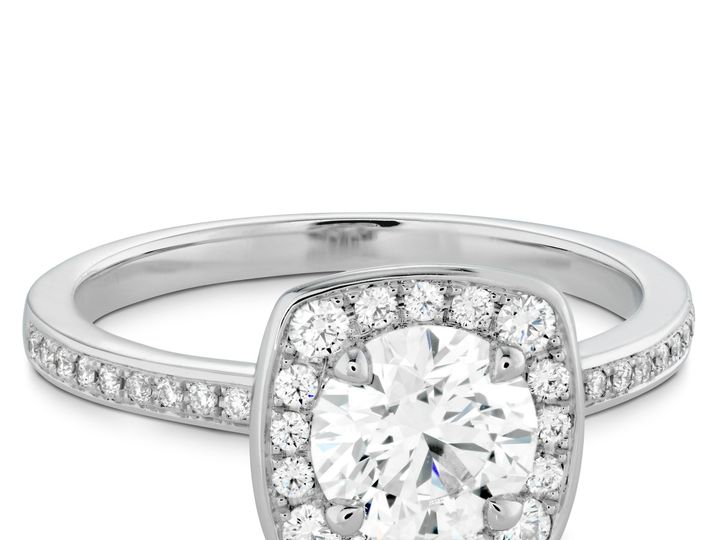 Tmx 1429690505052 Euphoria Custom Halo Engagement Ring Boston wedding jewelry