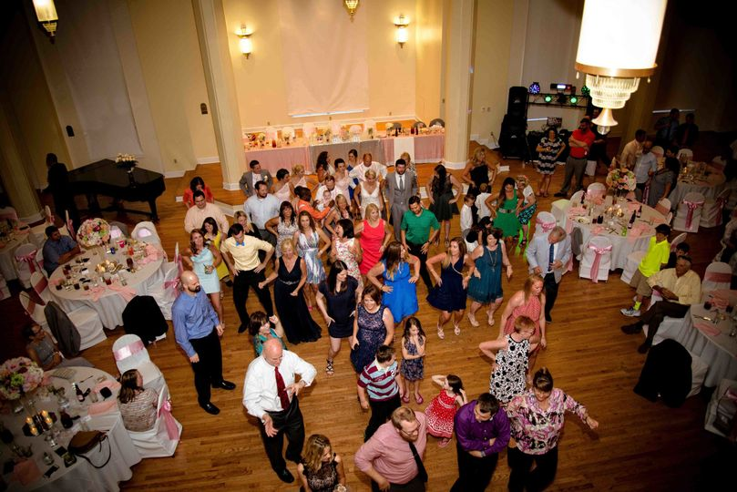 Kimball Ballroom Columbia MO wedding reception dance