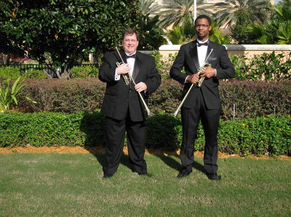 http://www.MusicRemembrance.com Nothing is more royal than Fanfare Trumpets announcing the bride....