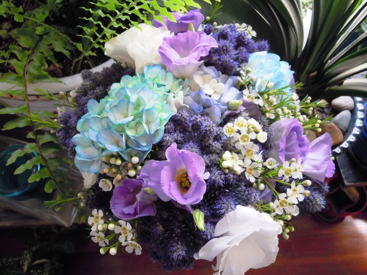Tmx 1379354619676 Blue 009 Jersey City wedding florist