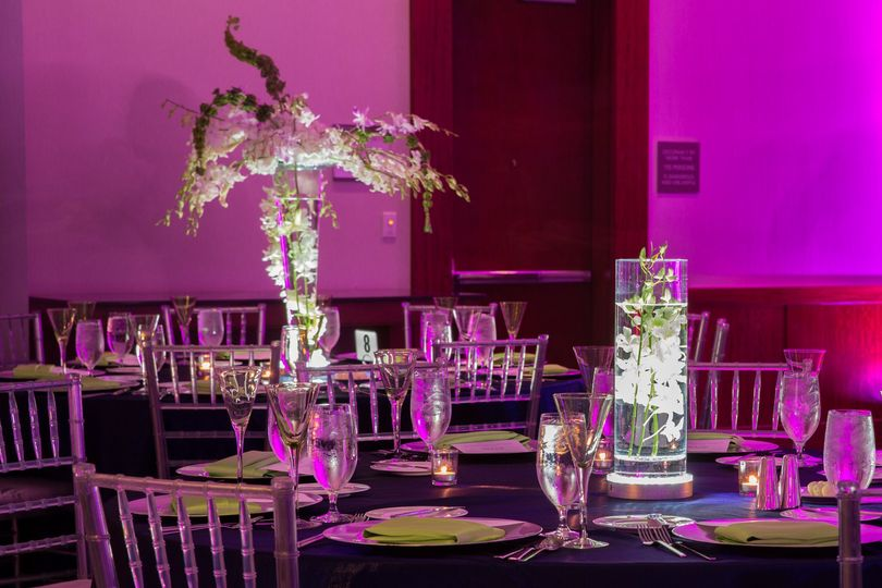 Westin event center pieces