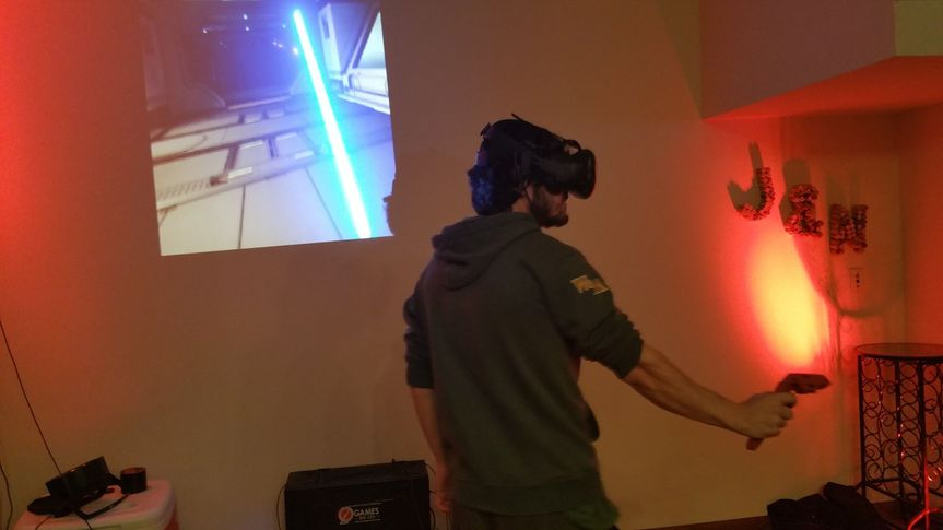 Virtual Reality Zone, go anywhere and do anything
