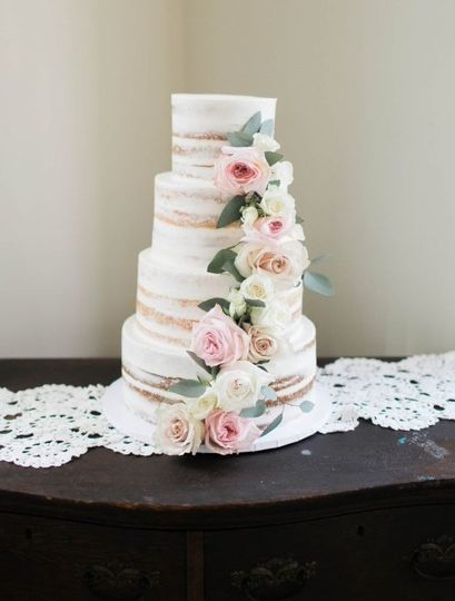 Gorgeous Semi-naked cake