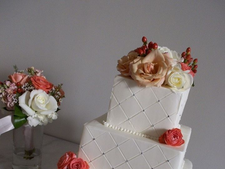 Tmx 1415160084760 1002666 Cary, North Carolina wedding cake