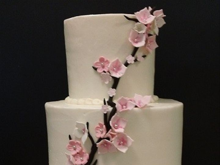 Tmx 1415160220900 Blossoms Cary, North Carolina wedding cake